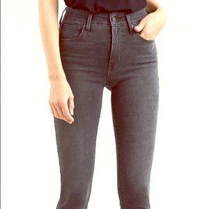 Levi's Mile High Skinny Black Jean
